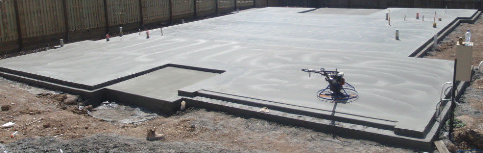 Concrete slabs ringwood concreting for Types of slabs for house